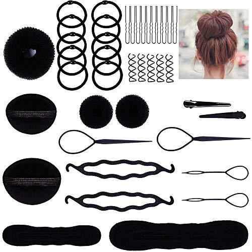 Cozywind Accesorios de Peinado Herramientas Set de Diseño de Cabello