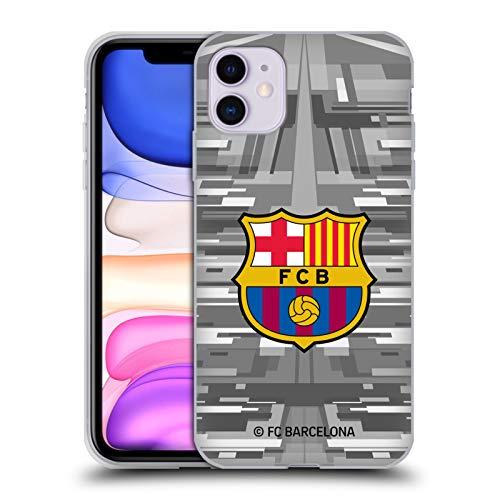 Head Case Designs Offizielle FC Barcelona Away Torwart 2019/20 Kamm Kit Soft Gel Huelle kompatibel mit Apple iPhone 11