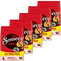 Senseo Regular / Classic, Nuevo Diseño, Paquete de 5, 5 x 48 Monodosis