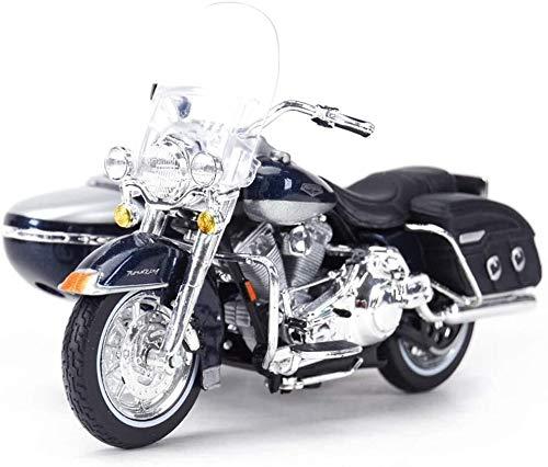 SHOP YJX Motorrad-Modell Harley 2001 FLHRC ROAD KING Straße Lokomotive Simulation Legierung Druckguss-Spielzeug...