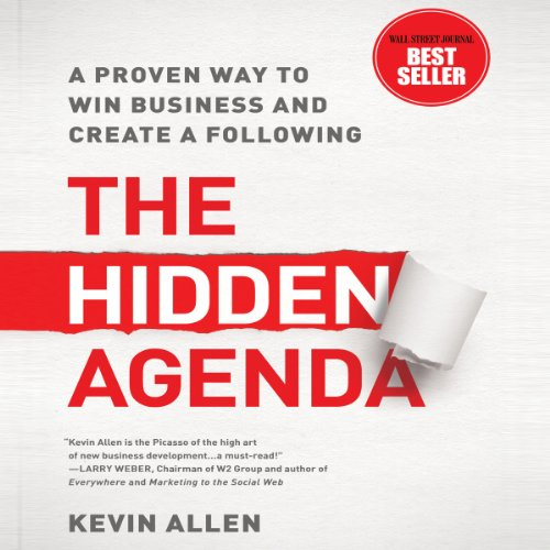 The Hidden Agenda audiobook cover art