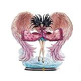 PEJHQY HQS One Piece GK Nico Robin Action Figure Model Wings of Dreams Anime 45cm Statua in Resina di qualità squisita