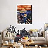 WAZMT Edvard Munch - der Schrei Klassische Kunst