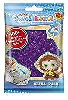 CRAZE- fusibles CSB Splash BEADYS Recharge de Pack Remplacement Violet Ensemble de Perles Artisanales 11843, Pourpre