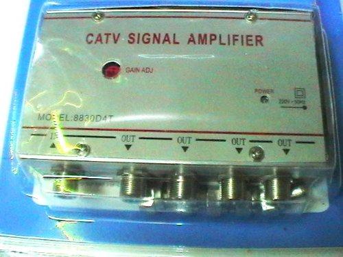 aumenta la señal digital terrestre siempre que necesitas!-Amplificador para antena de televisión analógica o digital prodigital-nuevo modelo de 4 salidas