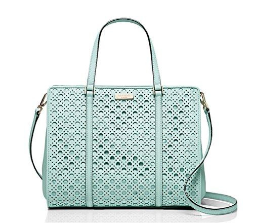 Kate Spade Romy Newbury Lane Caning Grace Blue Handbag