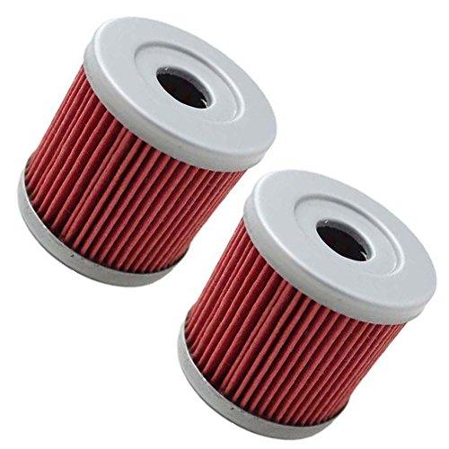 oxoxo 2pcs filtro de aceite reemplazar hf139KN139Fit para Suzuki drz400e DRZ400S DRZ400SM 2000–2013