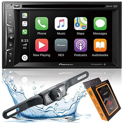 "Pioneer AVH-1500NEX Double Din Apple Carplay In-Dash DVD/CD/Am/FM Car Stereo Receiver W/ 6.2"" Touchscreen + Backup Camera Included + Phone Magnet Holder"