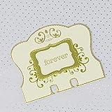 YUANRUI Memorydex Card 4 fustelle in metallo stencil per scrapbooking, album fotografici, biglietti di carta fai da te