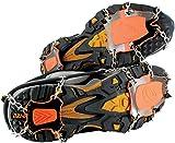 Yaktrax XTR - Crampones de marcha, color negro, talla XL