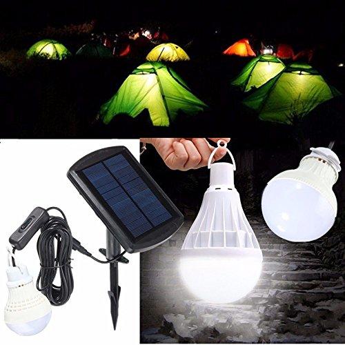 LaDicha Ext/érieur Suspendu LED Camping Tente Ampoule Lampe De P/êche Lanterne-Vert
