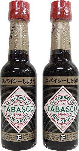 正田醤油 タバスコ スパイシーしょうゆ150ml x2本