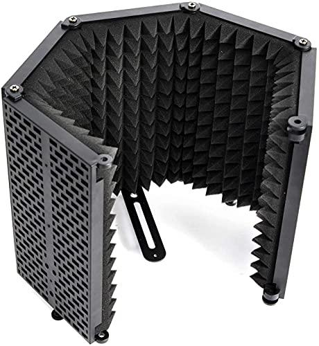 Escudo Aislamiento Micrófono, Moman RF30 Filtro Antipop de Espuma para Cualquier Micro...