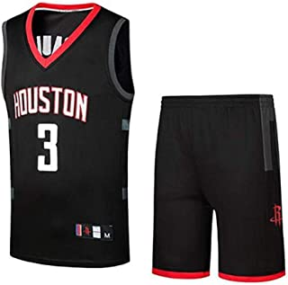 LLZYL NBA Rockets 3# Chris Paul Vintage All-Star Jersey, Tela Fresca y Transpirable, Camiseta de Hombre Jersey de Mujer Camiseta de Baloncesto de Pantalones Cortos