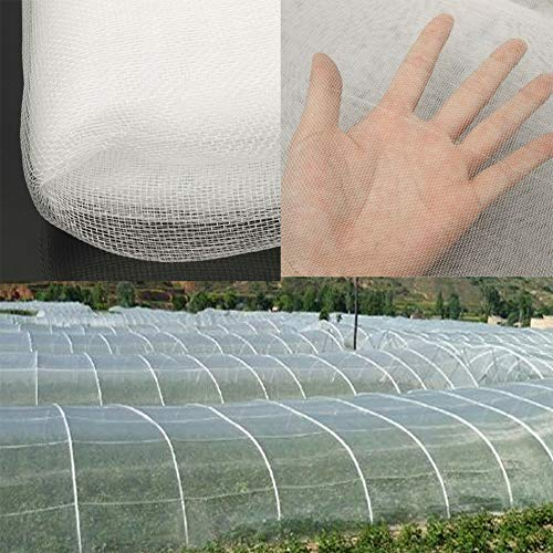 DUMGRN Garden Netting Fine Mesh for Plant, Insect Protection Net Grow Tunnel Fine Mesh for Vegetables Plants Fruits, Crops Mosquito Anti-Bird Net