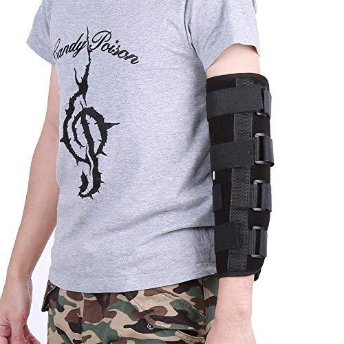 Codera, soporte para codo, transpirable, estilo de invierno con férula, estabilizador de fracturas, alivio del dolor, recuperación de lesiones, protector nocturno 🔥