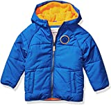 Carter's Baby Boys Adventure Bubble Jacket, House of Blues/Orange Neon, 24 Months