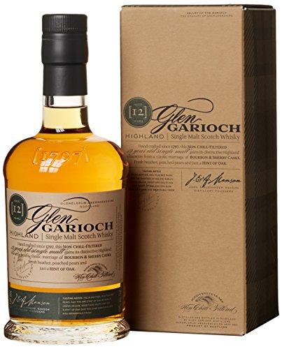 Glen Garioch 12 Jahre Highland Single Malt Scotch Whisky, mit Geschenkverpackung, mit Finish in Bourbon- und Sherryfässern, 48{02241a69063eac8a7438f446905d79af275a707883b8eae77c5dbe74cbe735be} Vol, 1 x 0,7l