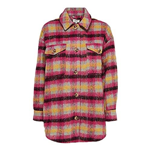 ONLY Kvinna jacka rutig skjortjacka