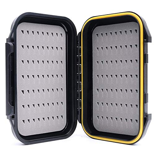 Maximumcatch OR Fliegenbox wasserdichte und tragbare Fliegendose mit Easy-Grip Schlitzschaum (Easy-Griff-Schaum)