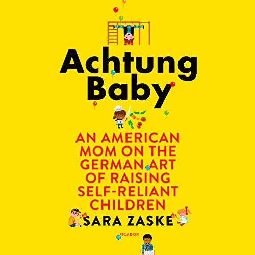 Achtung Baby audiobook cover art