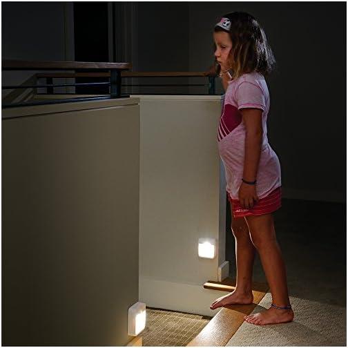 Mr. Beams MB 722, White MB722 Battery Powered Motion Sensing LED Stick Anywhere Night Light, 1-Pack 5
