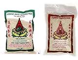 Arroz jazmín fragante 1 kg + arroz quebrado con aroma de jazmín 1 kg, (2x1 kg)