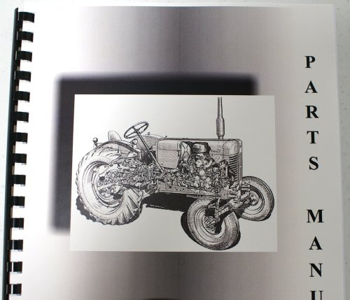 Ford Dearborn Field Cultivator (Model 10-95 Thru 10-106C Parts Manual