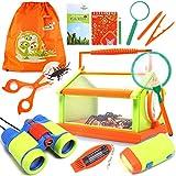 Lehoo Castle Kit Exploracion Niños Kit de Explorador para Niños Juego de Kit de Exploración y...