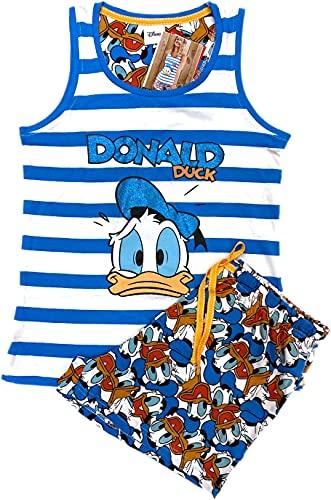 Disney Pijama Mujer Pato Donald Verano Tirantes (S)