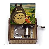 GSHGS Mecanismo Mi Vecino Totoro Music Box para Crear Ideas Antiguas Talladas Cumpleaños Navidad San Valentín