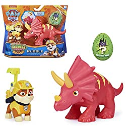 5. Paw Patrol Dino Rescue Rubble and Triceratops