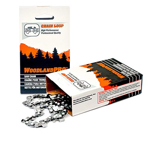 """WoodlandPRO 20"""" Chainsaw Chain Loop (30RC-72 Drive Links)"""