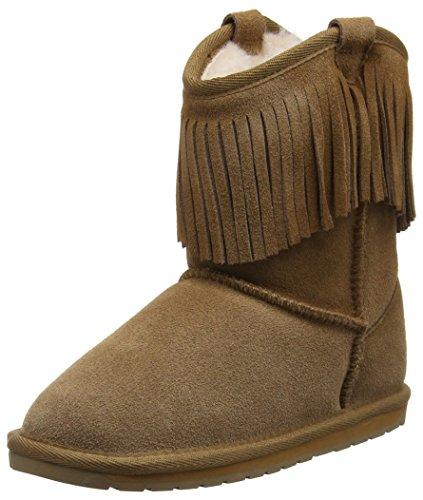 EMU Australia Glaziers Mokassin Boots, Braun (Chestnut), 36 EU