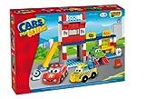 Unico Cars For Kids 8563 - Juego de construcción de Garaje (108 Piezas)