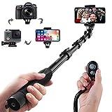 Selfie Stick Arespark Bastone Selfie con Bluetooth Wireless Remote...
