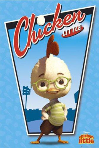 Empire 263254 baldachim i kura - Chicken Little - Film Movie Poster - 61 x 91,5 cm