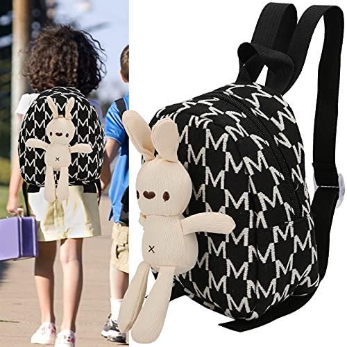 BOLORAMO Rucksack Kinder, Tiermodellierung Teilen Sie den Liebesrucksack für die Schule für Kinder für Kinder für Kindersachen(White M)