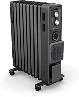 Dimplex Oil Free Column Heater with Timer and Turbo Fan, 2.4 kw, Anthracite Finish