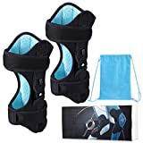 Slimerence New Knee Protection Booster, Non-slip Knee Pad 3-Speed Powerful Spring Force Adjustment Power lift Joint Knee Support for Sports Climbing Reduces Soreness Old Cold Leg, Large