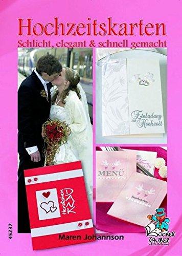 Hochzeitskarten - Schlicht, elegant & schnell gemacht