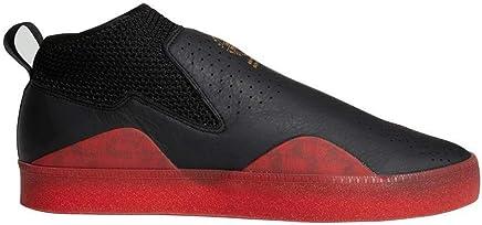 624d1dccfe93 adidas 3ST.002 Nakel Skate Shoes Black Scarlet