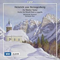 Herzogenberg: Works for Mixed Choir by Rheinische Kantorei (2012-02-28)