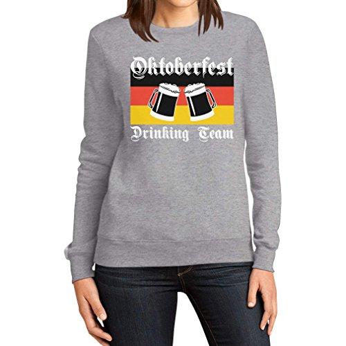 Oktoberfest Drinking Team - Bier Duitse vlag vrouwen sweatshirt