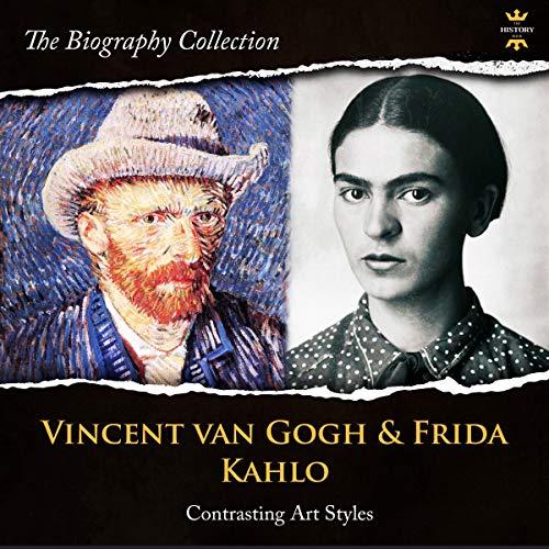 Vincent Van Gogh & Frida Kahlo audiobook cover art
