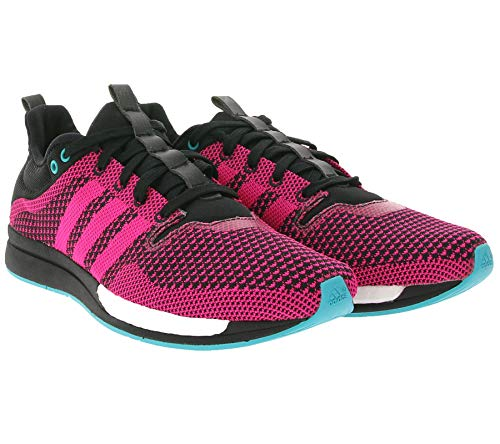 adidas Performance Adizero Feather - Zapatillas deportivas para mujer, color rosa y negro, color Rosa, talla 37 1/3 EU