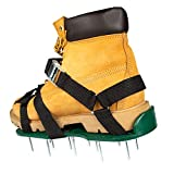 Punchau Lawn Aerator Shoes with Metal Buckles and 3 Straps with Added Ankle...
