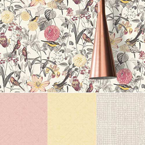 #patterned.wallpaper Geometrische Schlafzimmer Tapete 3D Rattan Geflecht Vliestapete Shabby Chic Graue Designer Küche Wohnzimmer Mustertapete