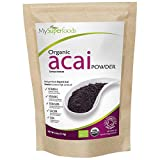 Organic Acai Berry Powder (125 grams) | MySuperFoods | Certified Organic | High In...