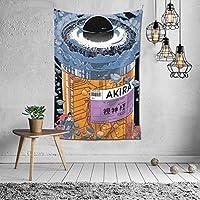 タペストリー AKIRA アキラ インテリア カーテン ビーチタオル おしゃれ 壁飾り 装飾布 ファブリック 雑貨 北欧系 装飾アート 装飾用品 模様替え 玄関 壁 壁掛け 新居祝い 150x100cm
